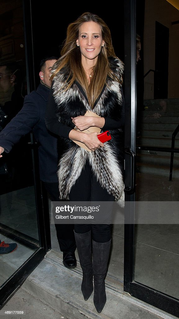 Stephanie Winston Wolkoff attends Michael Kors fashion show during Fall 2014 Mercedes - Benz Fashion Week on February 12, 2014 in New York City.