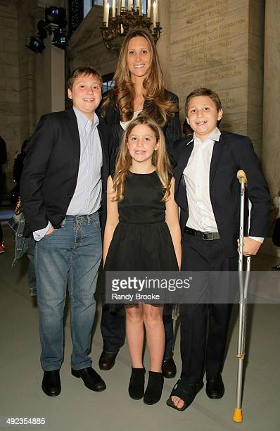 Stephanie Winston Wolkoff attends the Ralph Lauren Fall 14 Children's Fashion Show in Support of Literacy at New York Public Library on May 19 2014...