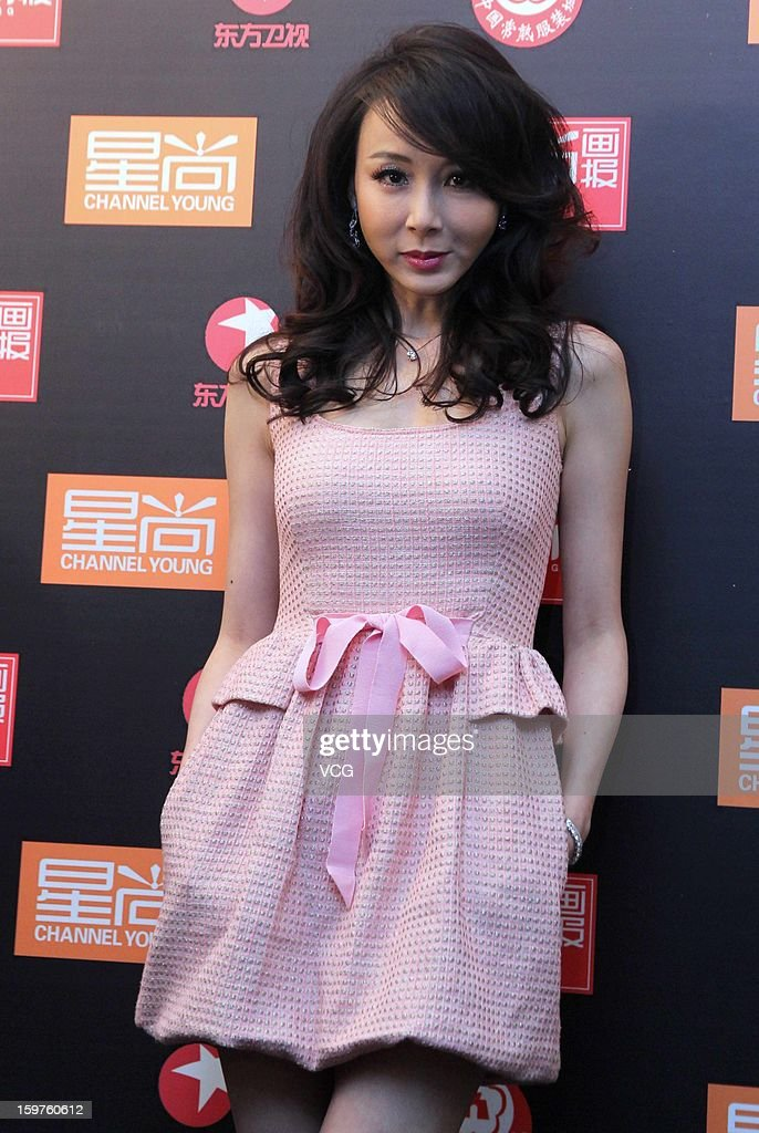 Stephanie Xiao attends the 12th Channel Young China Fashion Award on January 18, 2013 in Changshu, Jiangsu Province of China.