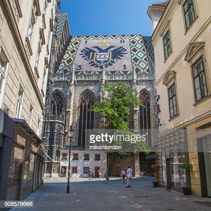 Stephansdom in Vienna : Stock Photo