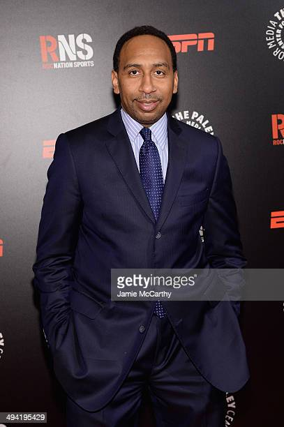 Stephen A Smith attends the Paley Prize Gala honoring ESPN's 35th anniversary presented by Roc Nation Sports on May 28 2014 in New York City