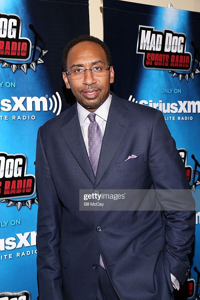 Stephen A. Smith Hosts SiriusXM Show From Wharton
