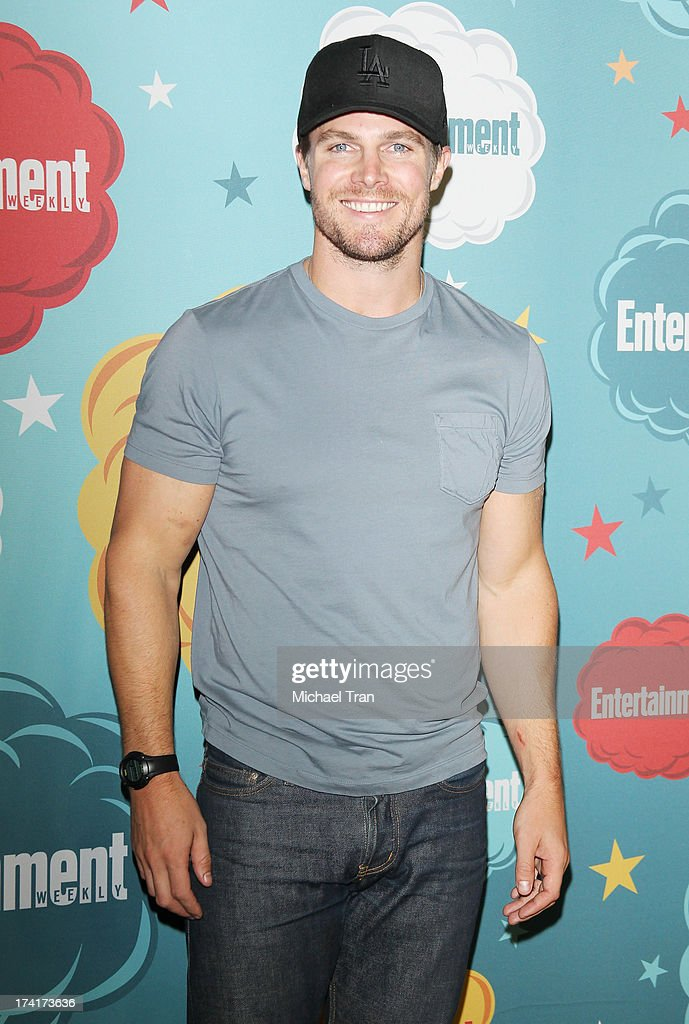 Stephen Amell arrives at the Entertainment Weekly's Annual Comic-Con celebration held at Float at Hard Rock Hotel San Diego on July 20, 2013 in San Diego, California.