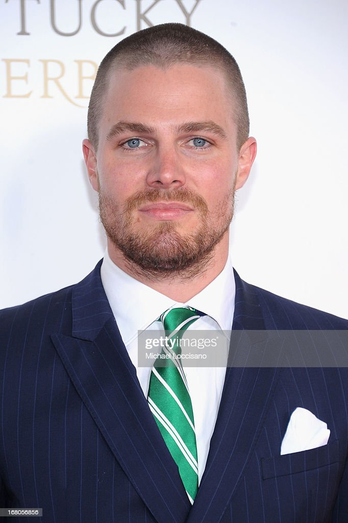 Stephen Amell attends the 139th Kentucky Derby at Churchill Downs on May 4, 2013 in Louisville, Kentucky.