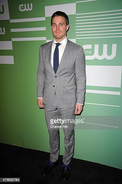 Stephen Amell attends The CW Network's New York 2015 Upfront Presentation at The London Hotel on May 14 2015 in New York City