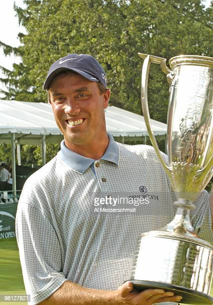 Stephen Ames shot a 1under 70 to finish at 10under 274 and won by two strokes at the Cialis Western Open in Lemont Illinois on July 4 2004