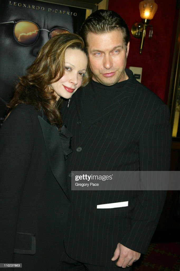 Stephen Baldwin and wife Kennya Deodato during 'The Aviator' New York City Premiere Inside Arrivals at Ziegfeld Theater in New York City New York...