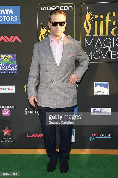 Stephen Baldwin arrives to the IIFA Magic of the Movies at MIDFLORIDA Credit Union Amphitheatre on April 25 2014 in Tampa Florida
