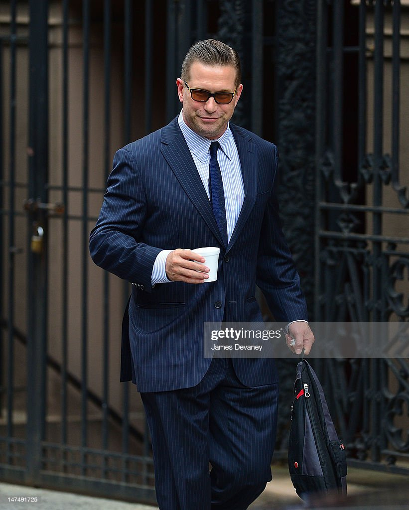 Stephen Baldwin attends Alec Baldwin and Hilaria Thomas' wedding ceremony at St Patrick's Old Cathedral on June 30 2012 in New York City