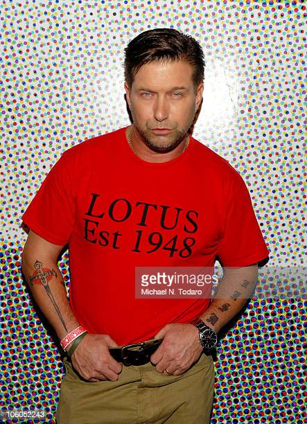 Stephen Baldwin attends the Celebrity Ping Pong tournament to benefit the Carol M Baldwin Breast Cancer Research Fund at SPiN New York on October 25...