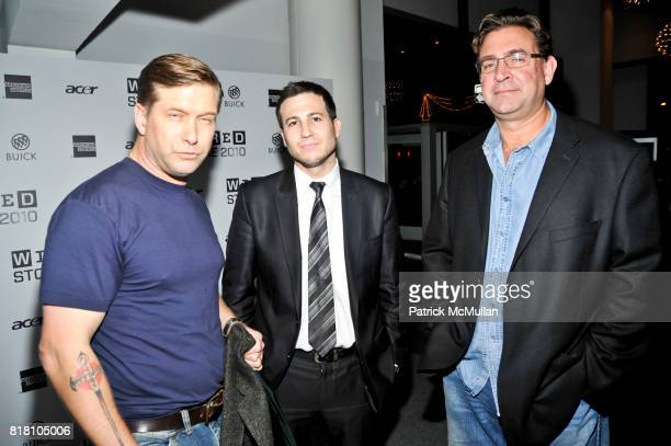 Stephen Baldwin Eric Lerner and Scott Smith attend WIRED Celebrates the 2010 WIRED Store Experiential Gallery Opening in NOHO at NoHo on November 18...
