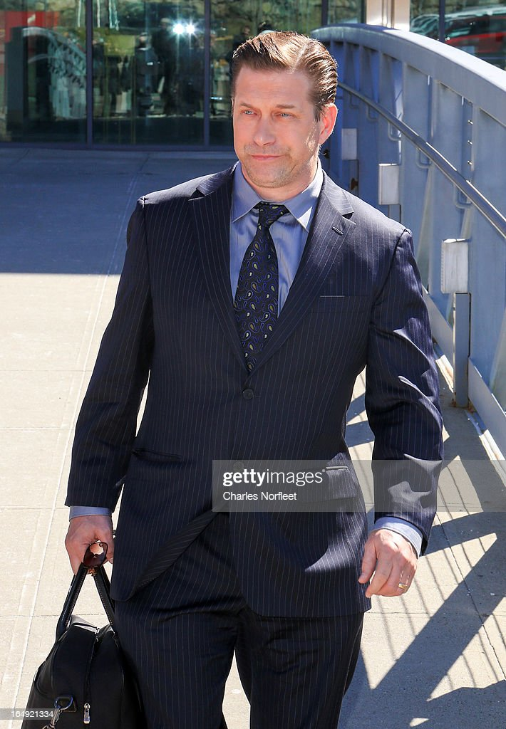 Stephen Baldwin leaves the courthouse after pleading guilty to a charge of repeated failure to file income taxes at Rockland County Courthouse on March 29, 2013 in New City, New York. Baldwin, a contestant on 'All-Star Celebrity Apprentice', was accused of failing to file income tax returns from 2008-2010 and faced up to four years in prison.
