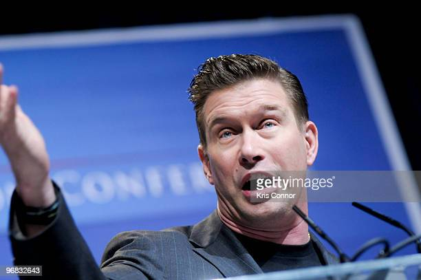 Stephen Baldwin speaks during the Conservative Political Action Conference at the Marriott Wardman Park Hotel on February 18 2010 in Washington DC
