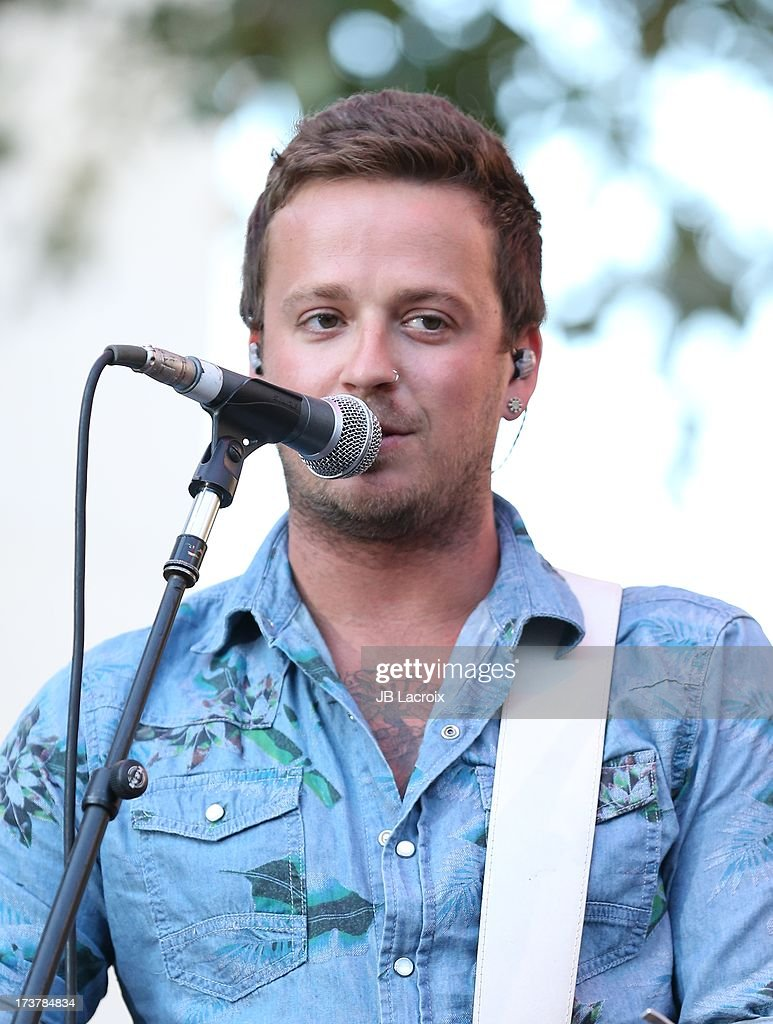 Stephen Barker Liles of Love And Theft performs at The Grove on July 17, 2013 in Los Angeles, California.