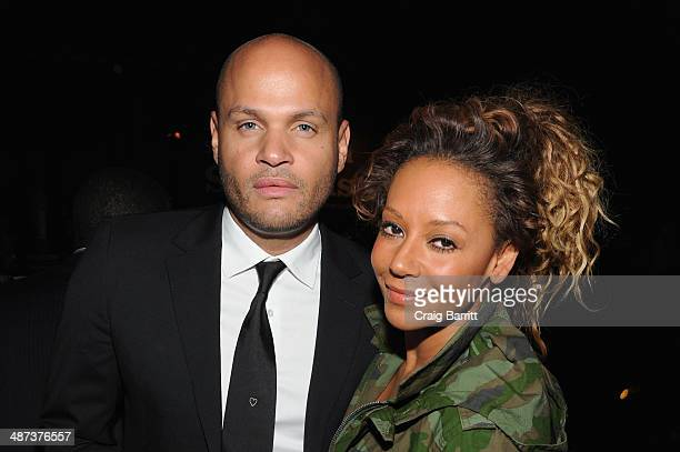 Stephen Belafonte and Mel B attend Sprint Sound Sessions at Webster Hall on April 29 2014 in New York City