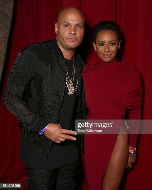 Stephen Belafonte and Mel B attend the Maxim Hot 100 Party at Hollywood Palladium on July 30 2016 in Los Angeles California