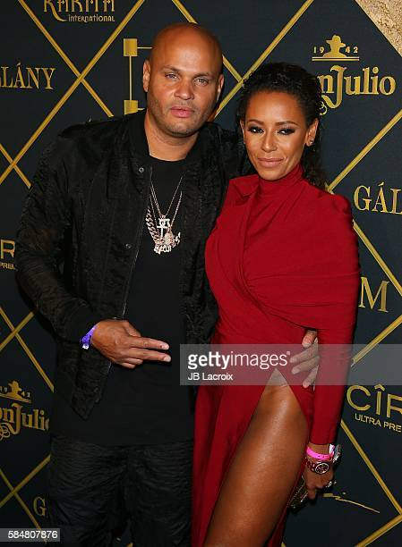 Stephen Belafonte and Mel B attend the Maxim Hot 100 party on July 30 2016 in Hollywood California