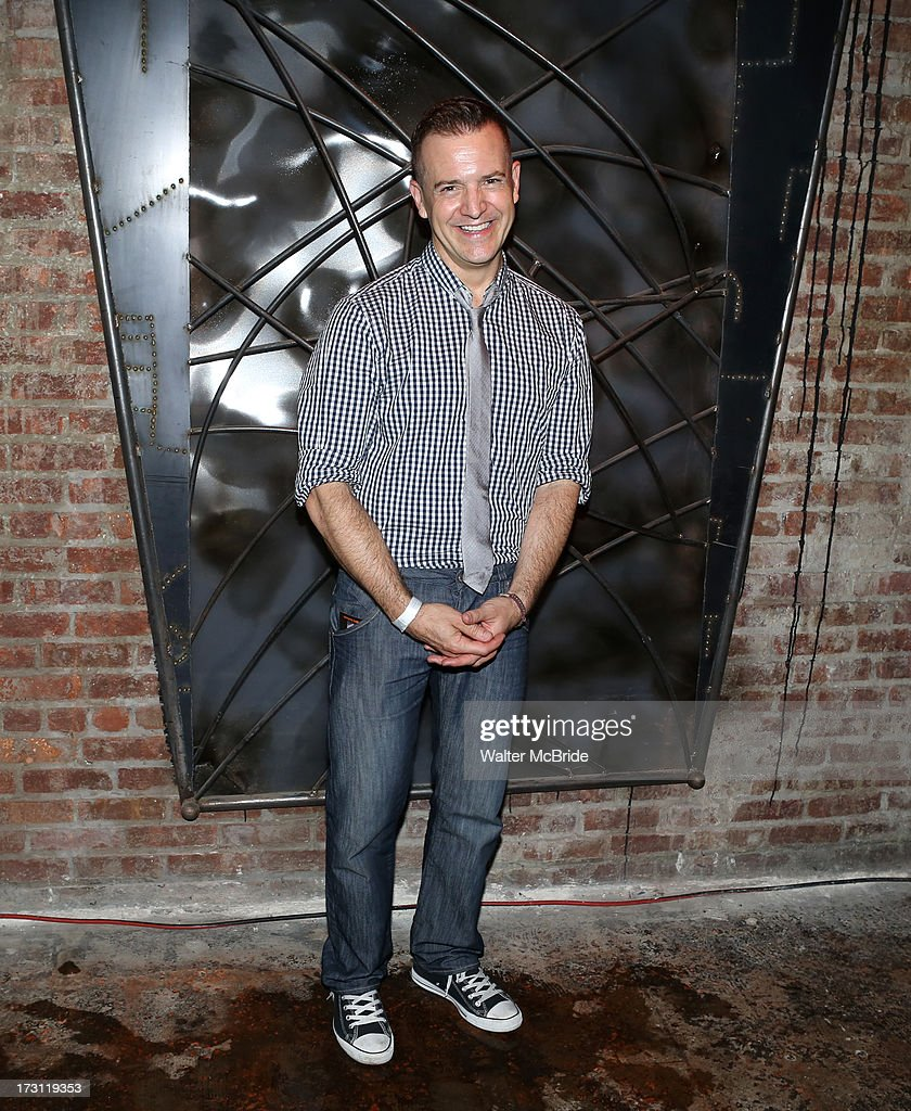 Stephen Bienskie attends the closing night party for 'Silence! The Musical' at Elektra Theatre on July 7, 2013 in New York City.