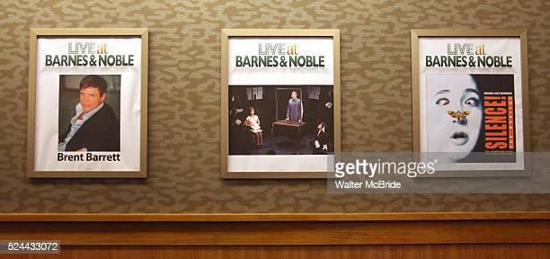 Stephen Bienskie Pamela Bob Topher Nuccio Jenn Harris Brent Barrett Annie Funke Howard Kaye Callan Bergmann Harry Bouvy promotes the 'SILENCE The...