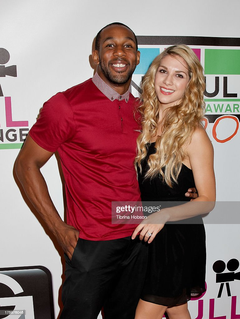 Stephen Boss and <a gi-track='captionPersonalityLinkClicked' href=/galleries/search?phrase=Allison+Holker&family=editorial&specificpeople=736475 ng-click='$event.stopPropagation()'>Allison Holker</a> attend the 'No Bull Teen Video Awards' at the Westin LAX Hotel on August 10, 2013 in Los Angeles, California.