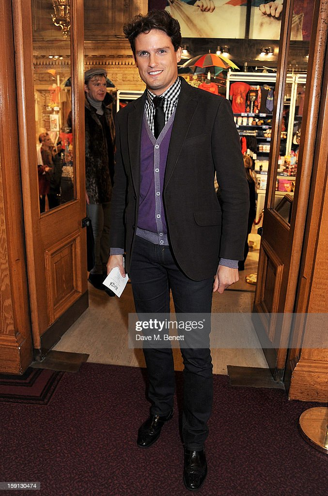 <a gi-track='captionPersonalityLinkClicked' href=/galleries/search?phrase=Stephen+Bowman&family=editorial&specificpeople=4404142 ng-click='$event.stopPropagation()'>Stephen Bowman</a> arrives at the opening night of Cirque Du Soleil's Kooza at Royal Albert Hall on January 8, 2013 in London, England.
