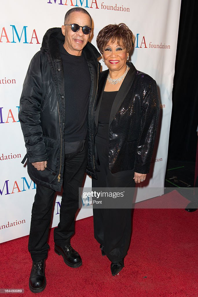 Stephen Burrows and Vy Higginsen attend 'Mama I Want To Sing' 30th Anniversary Gala Celebration at The Dempsey Theatre on March 23, 2013 in New York City.