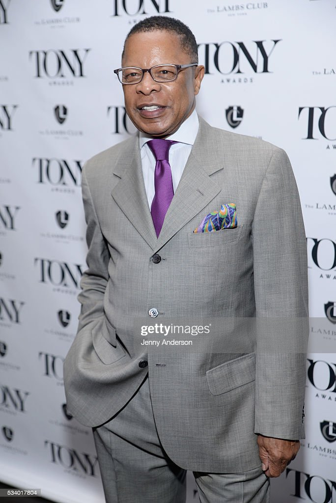 Stephen C. Byrd arrives at A Toast To The 2016 Tony Awards Creative Arts Nominees at The Lambs Club on May 24, 2016 in New York City.