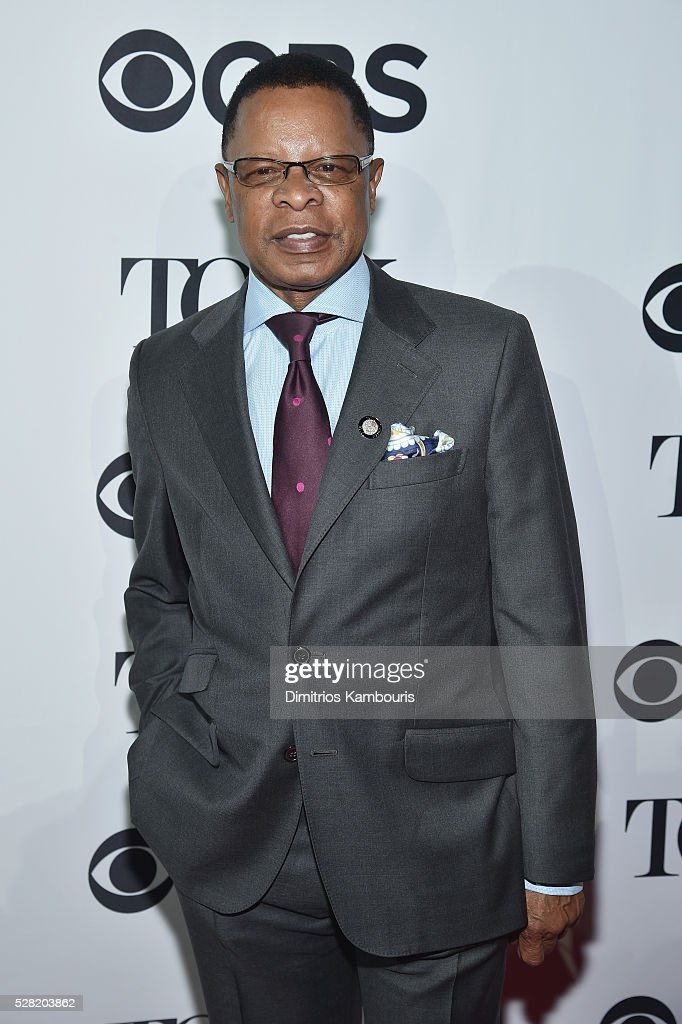 Stephen C. Byrd attends the 2016 Tony Awards Meet The Nominees Press Reception on May 4, 2016 in New York City.