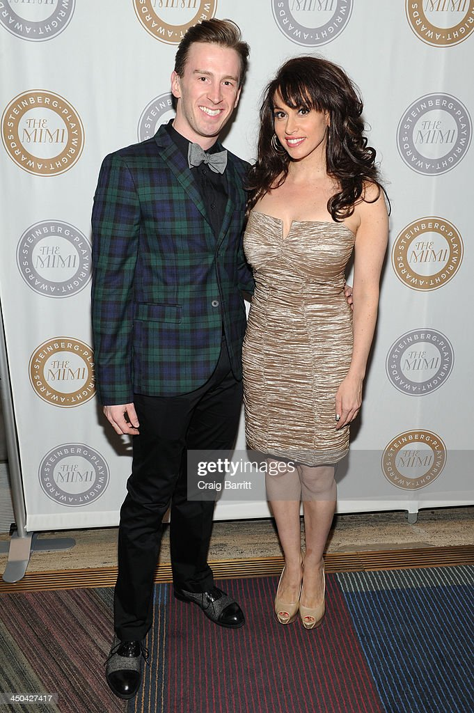 Stephen Carrasco and Lesli Margherita attend The 2013 Steinberg Playwright 'Mimi' Awards presented by The Harold and Mimi Steinberg Charitable Trust at Lincoln Center Theater on November 18, 2013 in New York City.