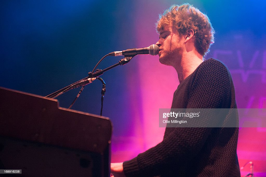 Stephen Carrigan of Kodaline performs on stage at The Brighton Dome on Day 1 of The Great Escape Festival on May 16, 2013 in Brighton, England.