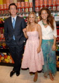 Stephen Colbert Amy Sedaris and Dylan Lauren during THINKFilm Presents The New York Premiere of 'Strangers With Candy' Afterparty at Dylan's Candy...