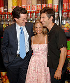 Stephen Colbert Amy Sedaris and Paul Dinello during THINKFilm Presents The New York Premiere of 'Strangers With Candy' Afterparty at Dylan's Candy...
