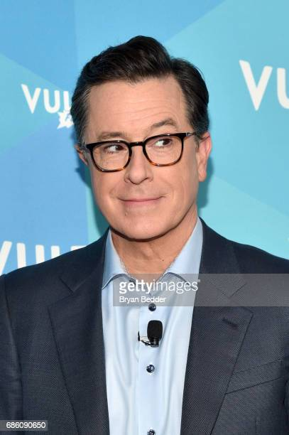 Stephen Colbert attends State Of The Union With Stephen Colbert And Frank Rich during the 2017 Vulture Festival at Milk Studios on May 20 2017 in New...