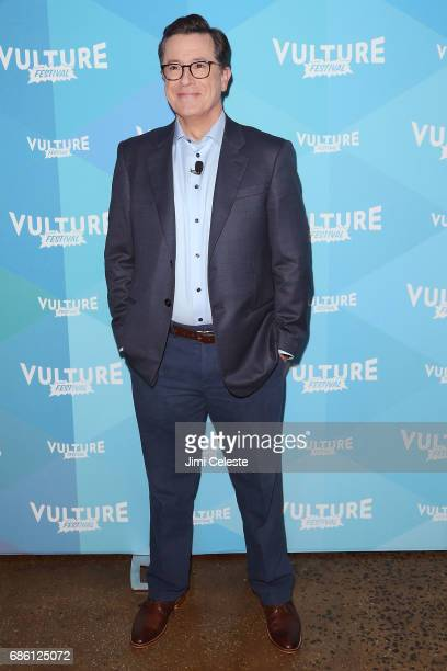 Stephen Colbert attends the Vulture Festival State of the Union with Stephen Colbert and Frank Rich at Milk Studios on May 20 2017 in New York City