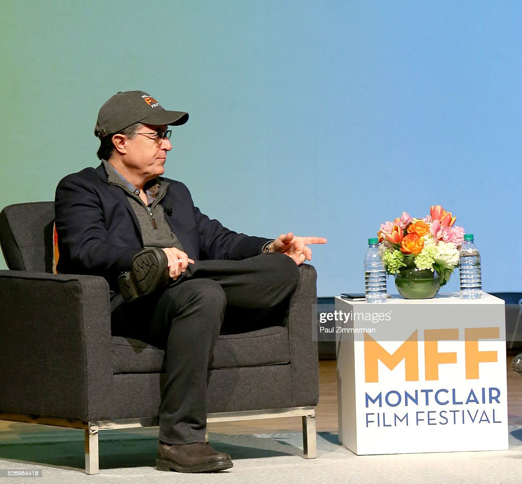 Stephen Colbert speaks onstage at the Montclair Film Festival 2016 - Day 3 Conversations at Montclair Kimberly Academy on May 1, 2016 in Montclair, New Jersey.