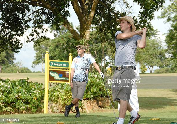 Stephen Colletti and Dax Shepard during The 3rd Annual Royal Plantation and Access Hollywood Celebrity Golf Classic Day 2 at Royal Plantation in Ocho...