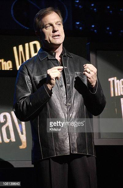 Stephen Collins '7th Heaven' during 2003 The WB Upfront Presentation at Sheraton New York Hotel and Towers in New York New York United States