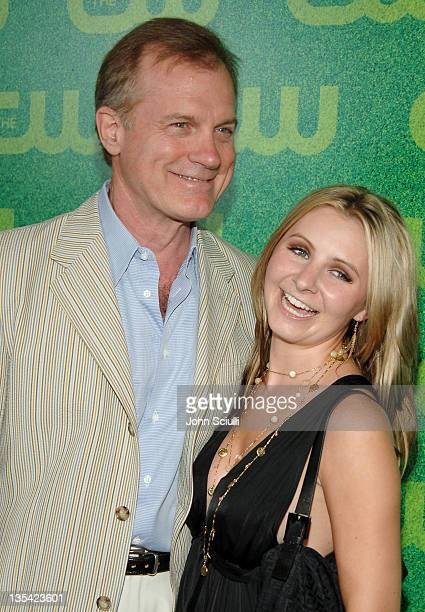 Stephen Collins and Beverley Mitchell during The CW Summer 2006 TCA Party Arrivals at Ritz Carlton in Pasadena California United States