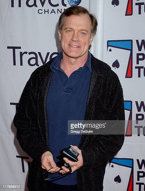 Stephen Collins during 2005 World Poker Tour Invitational Arrivals at Commerce Casino in City of Commerce California United States