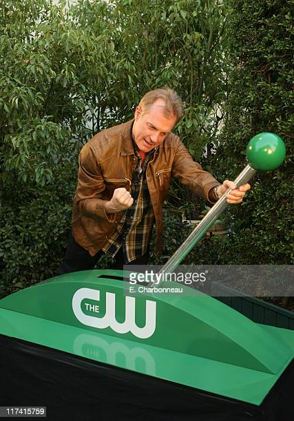 Stephen Collins during The CW Launch Party Green Carpet at WB Main Lot in Burbank California United States