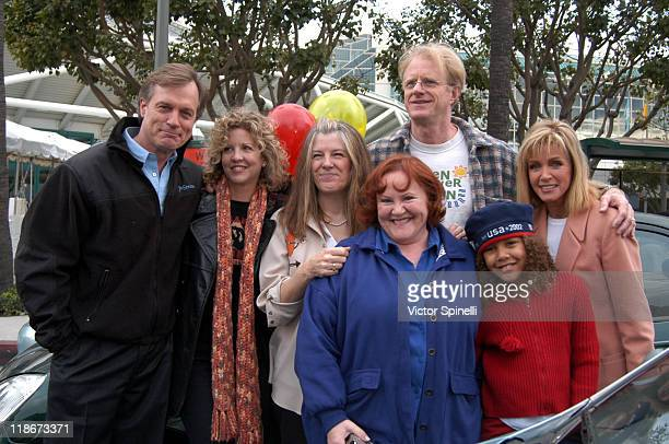 Stephen Collins Nancy Allen Ed Begley Jr Mimi Kennedy Edie McClurg Donna Mills and daughter