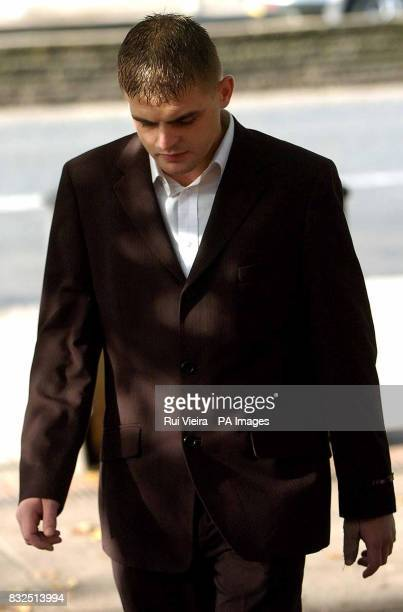 Stephen Connell outside Derby Crown Court where he was jailed for four years for causing the death of a threeyearold girl in a quad bike accident