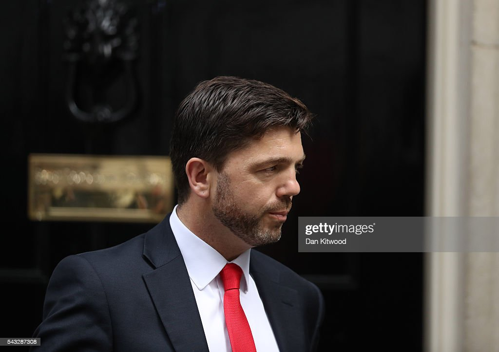 <a gi-track='captionPersonalityLinkClicked' href=/galleries/search?phrase=Stephen+Crabb&family=editorial&specificpeople=13218086 ng-click='$event.stopPropagation()'>Stephen Crabb</a>, Secretary of State for Work and Pensions leaves Downing Street following a cabinet meeting on June 27, 2016 in London, England. British Prime Minister David Cameron chaired an emergency Cabinet meeting this morning, after Britain voted to leave the European Union. Chancellor George Osborne spoke at a press conference ahead of the start of financial trading and outlining how the Government will 'protect the national interest' after the UK voted to leave the EU.