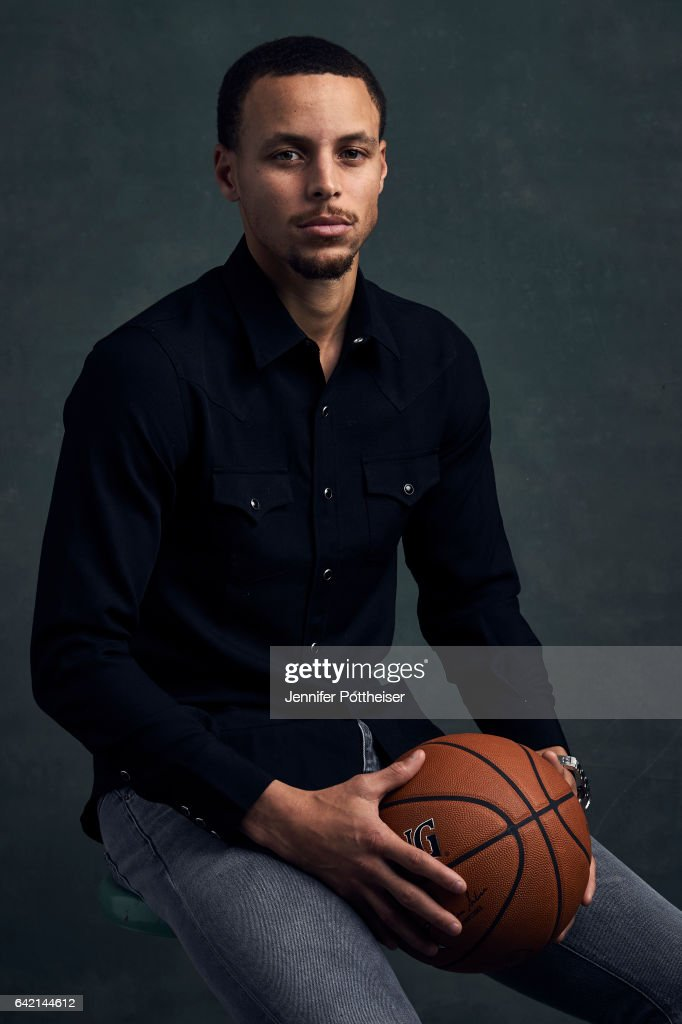 Stephen Curry of the Golden State Warriors poses for portraits during the NBAE Circuit as part of 2017 All-Star Weekend at the Ritz-Carlton Hotel on February 16, 2017 in New Orleans, Louisiana.