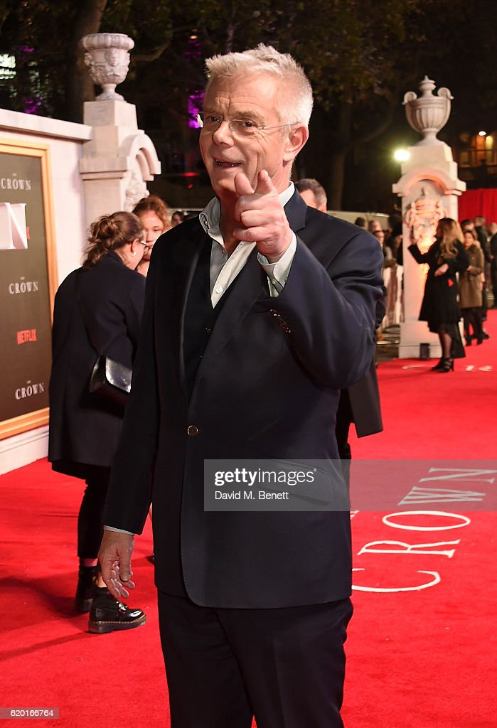 Stephen Daldry attends the World Premiere of new Netflix Original series 'The Crown' at Odeon Leicester Square on November 1, 2016 in London, England.