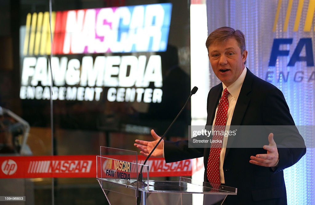 NASCAR Fan and Media Engagement Center Unveiling