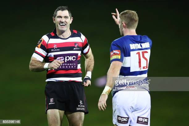 Stephen Donald of Counties Manukau looks on during the round one Mitre 10 Cup match between Counties Manukau and Auckland at ECOLight Stadium on...