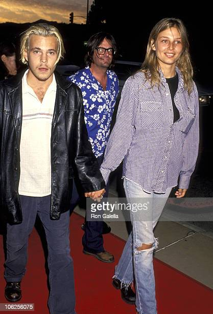 Stephen Dorff and Bridget Hall during Premiere of 'The Adventures of Priscilla Queen of the Desert' August 9 1994 at Pacific's Cinerama Dome in...