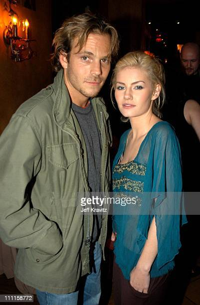 Stephen Dorff and Elisha Cuthbert during Old School After Party at Highlands Night Club in Hollywood CA United States