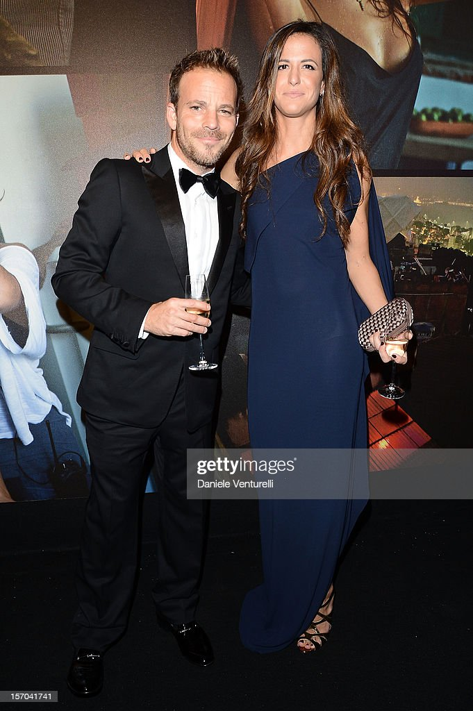 <a gi-track='captionPersonalityLinkClicked' href=/galleries/search?phrase=Stephen+Dorff&family=editorial&specificpeople=206430 ng-click='$event.stopPropagation()'>Stephen Dorff</a> and Giada Tronchetti Provera attend the '2013 Pirelli Calendar Unveiling' on November 27, 2012 in Rio de Janeiro, Brazil.